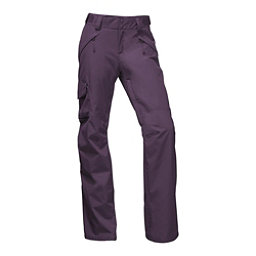 The North Face Freedom Insulated Short Womens Ski Pants, Dark Eggplant Purple, 256