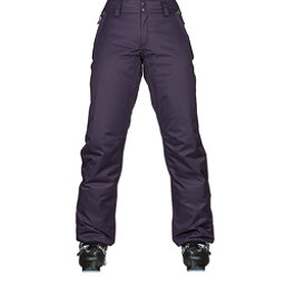 The North Face Sally Womens Ski Pants, Dark Eggplant Purple, 256