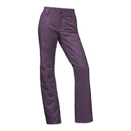 The North Face Sally Long Womens Ski Pants, Dark Eggplant Purple, 256