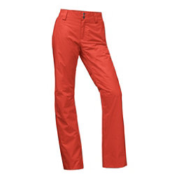 The North Face Sally Long Womens Ski Pants, Ketchup Red, 256