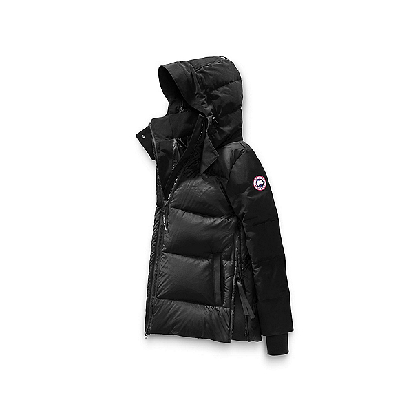 Canada Goose Whitehorse Parka Womens Jacket, Black, 600