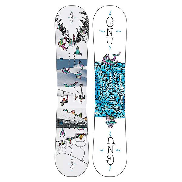 Gnu Recess Asym BTX Boys Snowboard 2018, , 600