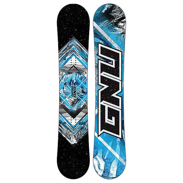 Gnu Gnuru Asym C2E Snowboard 2018, , 600