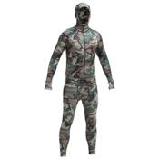 Air Blaster Classic Ninja Suit Mens Long Underwear Top, Camouflage, medium