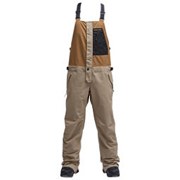 Air Blaster Beast Bib Mens Snowboard Pants, Khaki, 256