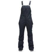 Air Blaster Hot Bib Womens Snowboard Pants, Black Wax, medium