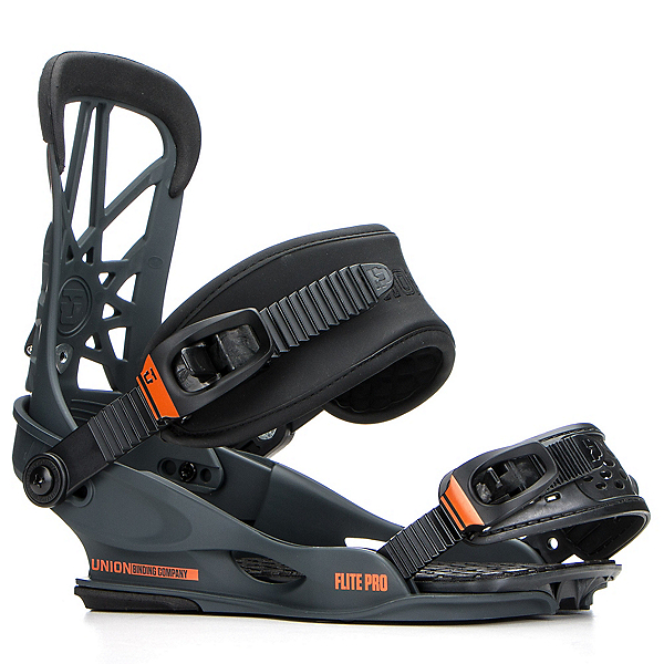 Union Flite Pro Snowboard Bindings 2018, Dark Grey, 600
