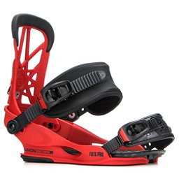 Union Flite Pro Snowboard Bindings 2018, Red, 256