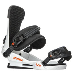 Union STR Snowboard Bindings 2018, White, 256