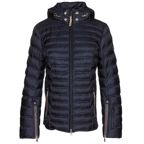 Bogner Nasha Down Womens Insulated Ski Jacket, Navy, 600