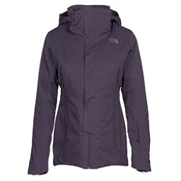 The North Face Powdance Womens Insulated Ski Jacket, Dark Eggplant Purple, 256
