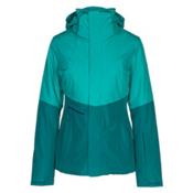The North Face Garner Triclimate Womens Insulated Ski Jacket, Vistula Blue-Harbor Blue, medium