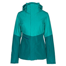 The North Face Garner Triclimate Womens Insulated Ski Jacket, Vistula Blue-Harbor Blue, 256