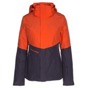 The North Face Garner Triclimate Womens Insulated Ski Jacket, Firebrick Red-Dark Eggplant Pu, medium