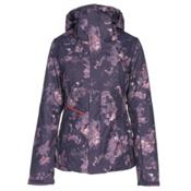 The North Face Garner Triclimate Womens Insulated Ski Jacket, Dark Eggplant Purple-Granite B, medium