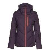 The North Face Corefire Down Womens Insulated Ski Jacket, Dark Eggplant Purple, medium