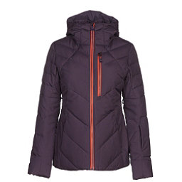 The North Face Corefire Down Womens Insulated Ski Jacket, Dark Eggplant Purple, 256