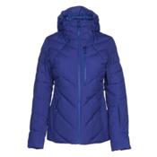 The North Face Corefire Down Womens Insulated Ski Jacket, Inauguration Blue, medium