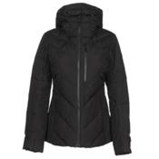 The North Face Corefire Down Womens Insulated Ski Jacket, TNF Black, medium