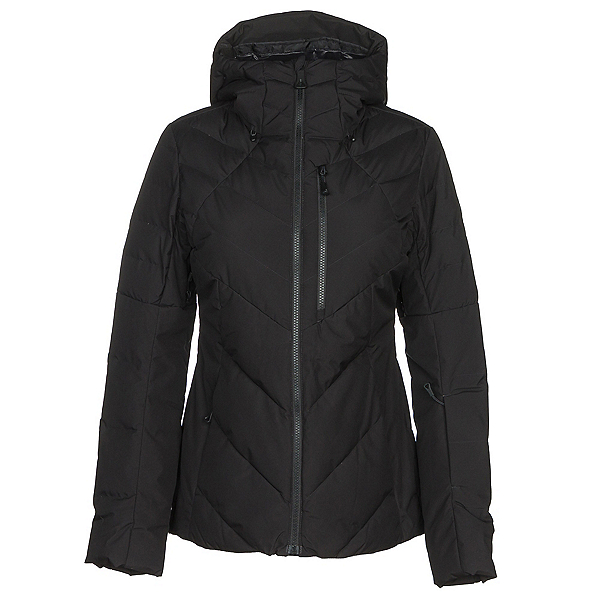 The North Face Corefire Down Womens Insulated Ski Jacket, TNF Black, 600