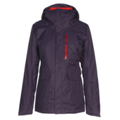 The North Face ThermoBall Snow Triclimate Womens Insulated Ski Jacket, Dark Eggplant Purple, medium