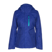 The North Face ThermoBall Snow Triclimate Womens Insulated Ski Jacket, Inauguration Blue, medium