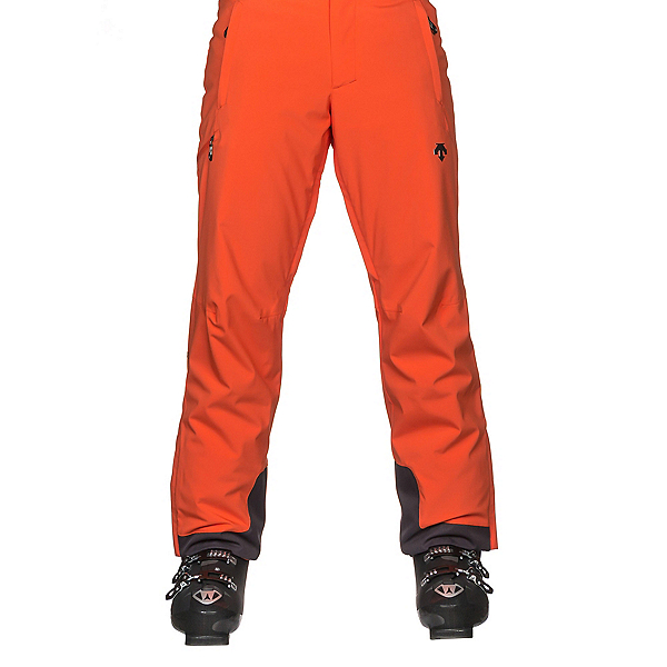 Descente Stock Mens Ski Pants, Blaze Orange, 600
