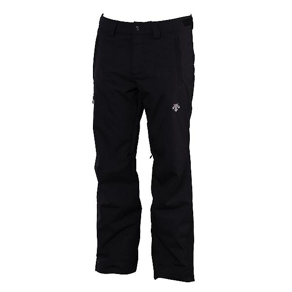 Descente Stock Short Mens Ski Pants, Black, 600