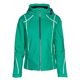 Descente Bree Womens Insulated Ski Jacket, Electro Green, 256