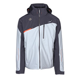 Descente Fusion Mens Insulated Ski Jacket, Moonstone Gray-Anthracite Gray, 256