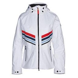 Bogner Fire + Ice Macie Womens Insulated Ski Jacket, Off White, 256