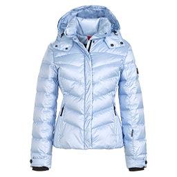 Bogner Fire + Ice Sally3 Down Womens Insulated Ski Jacket, Glacier Metallic, 256