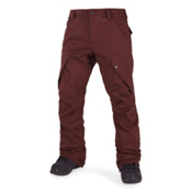 Volcom Articulated Mens Snowboard Pants, Burnt Red, medium