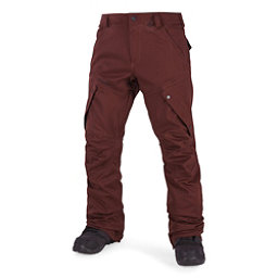 Volcom Articulated Mens Snowboard Pants, Burnt Red, 256