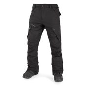 Volcom Articulated Mens Snowboard Pants, Black, medium