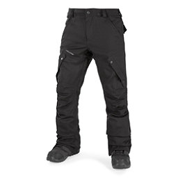 Volcom Articulated Mens Snowboard Pants, Black, 256