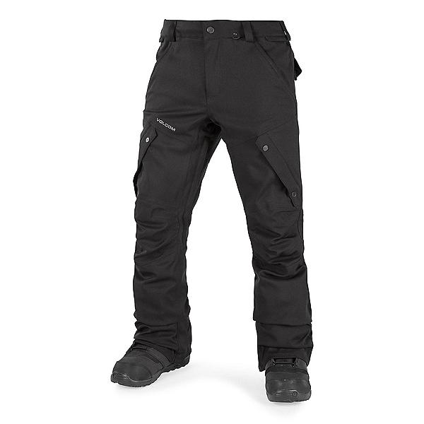 Volcom Articulated Mens Snowboard Pants, Black, 600