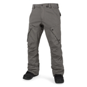 Volcom Articulated Mens Snowboard Pants, Charcoal, medium