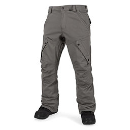 Volcom Articulated Mens Snowboard Pants, Charcoal, 256