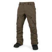 Volcom Articulated Mens Snowboard Pants, Teak, medium