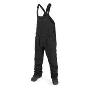 Volcom Roan Overall Mens Snowboard Pants, Black, medium