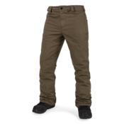 Volcom Klocker Tight Mens Snowboard Pants, Teak, medium