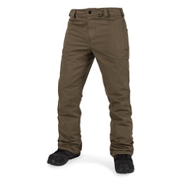 Volcom Klocker Tight Mens Snowboard Pants, Teak, 256