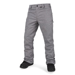 Volcom Klocker Tight Mens Snowboard Pants, Heather Grey, 256