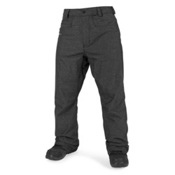 Volcom Carbon Mens Snowboard Pants, Black, medium