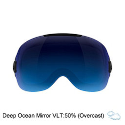 Abom One Goggle Replacement Lens 2018, Deep Ocean Blue Mirror, 256