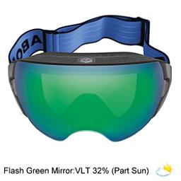 Abom Heet Goggles 2018, Flash Green Mirror, 256