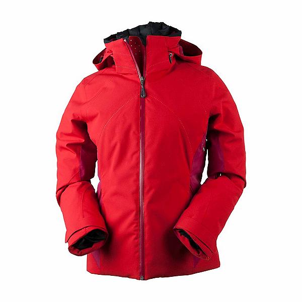 Obermeyer Vivid Womens Insulated Ski Jacket, Crimson, 600