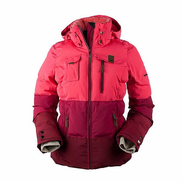 Obermeyer Leighton Womens Insulated Ski Jacket, Island Sunset, 600