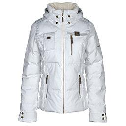 Obermeyer Leighton Womens Insulated Ski Jacket, White, 256